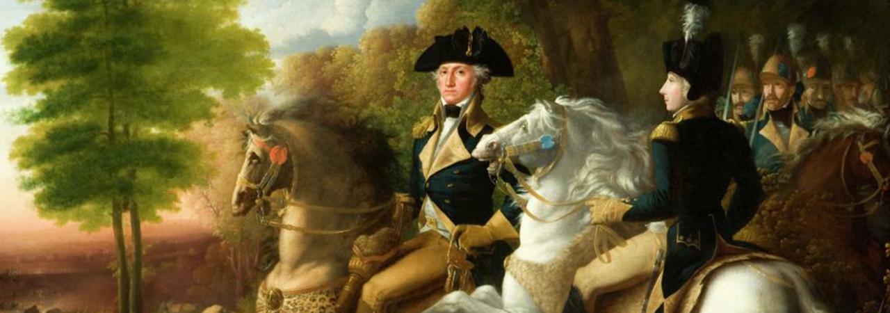 Battle of Brandywine - Washington & Lafayette