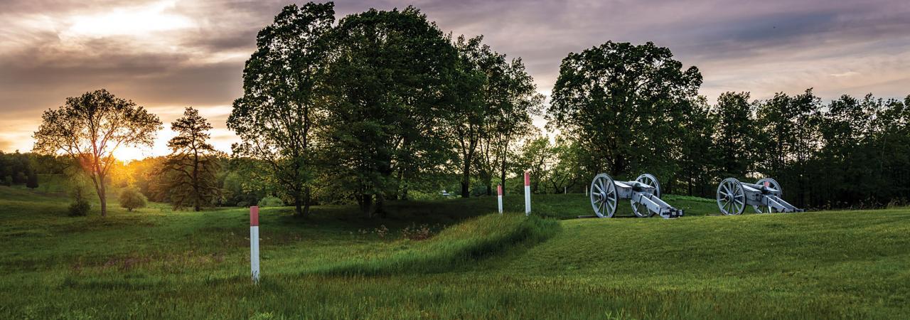 Breymann Redoubt at Saratoga