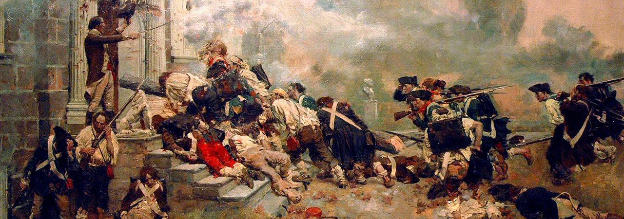 Battle of Germantown by Howard Pyle