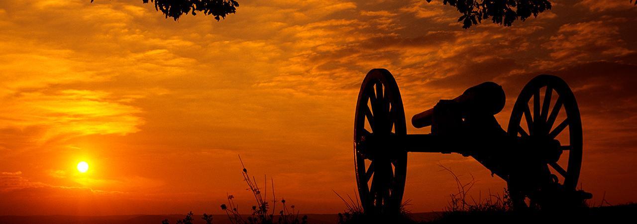 Gettysburg Battlefield Hero Landscape