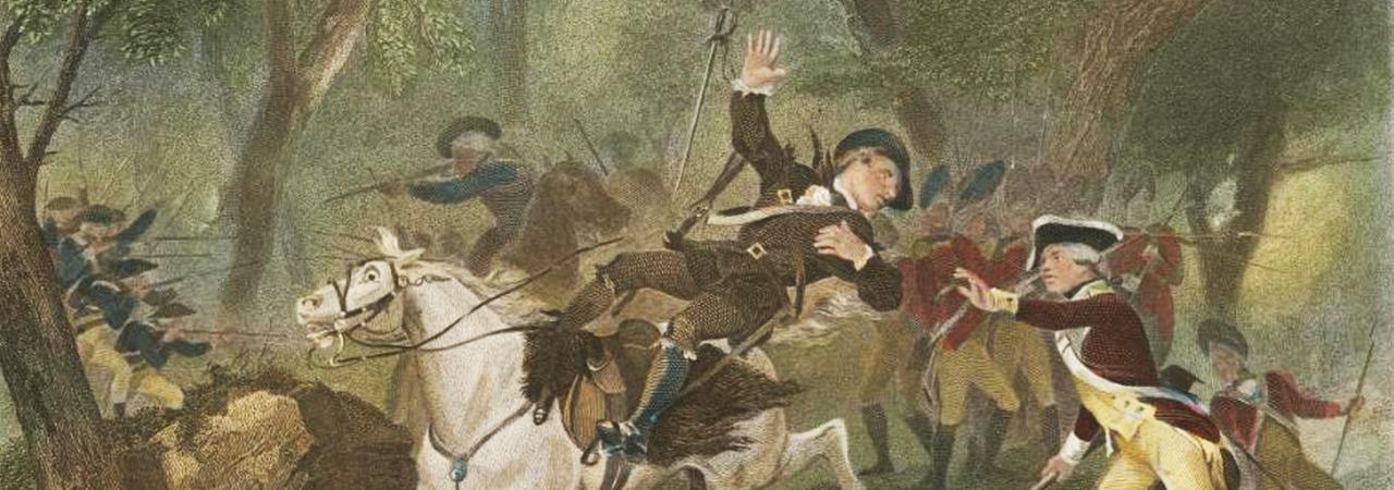 King's Mountain - Death of Ferguson Chappel