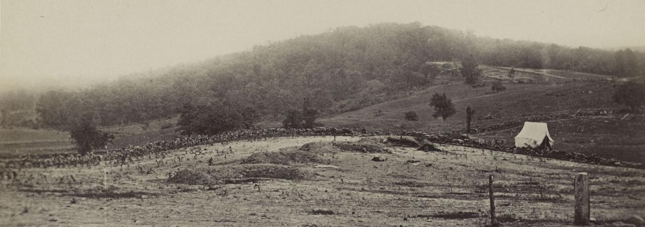 Culp's Hill at Gettysburg, Pa.