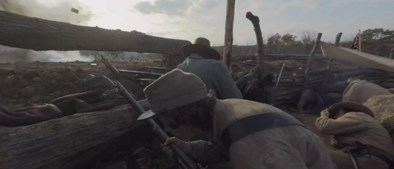 Civil War 1864 Virtual Reality Video Series