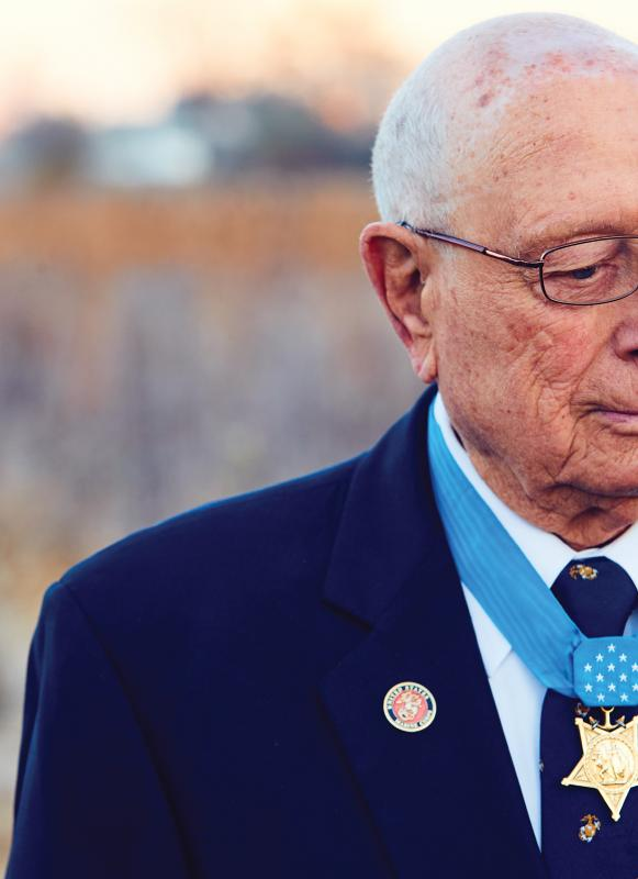 MOH Recipient Hershel Woody Williams Close Up