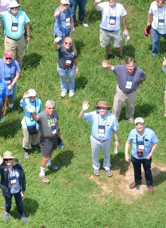 Aerial View of Members