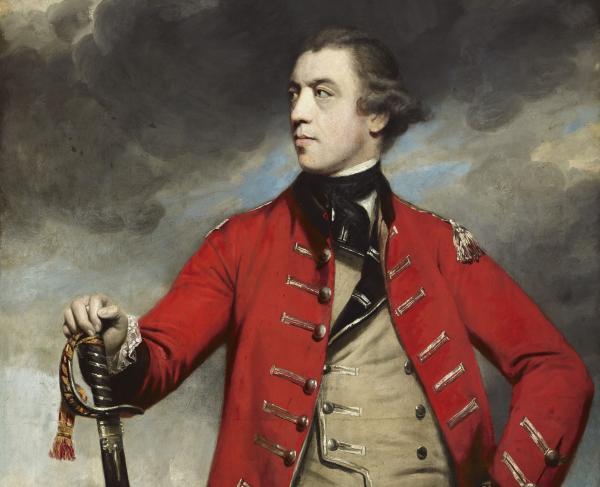 Portrait of John Burgoyne