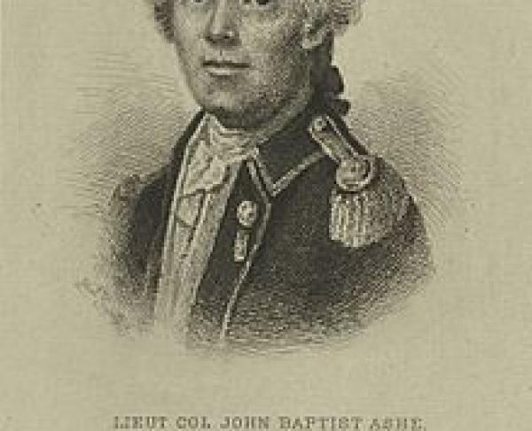 Portrait of John Ashe