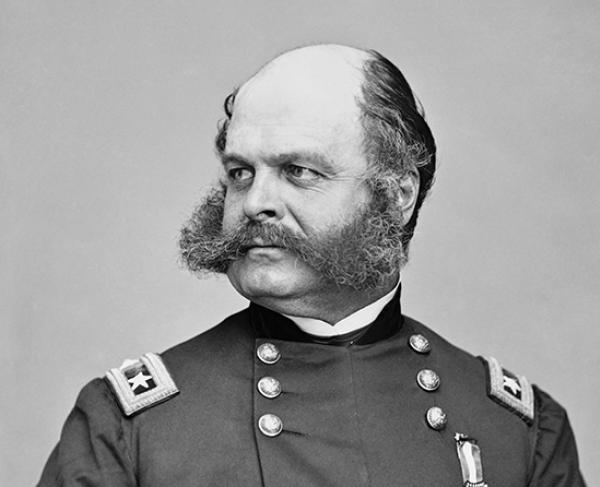 Portrait of Ambrose E. Burnside