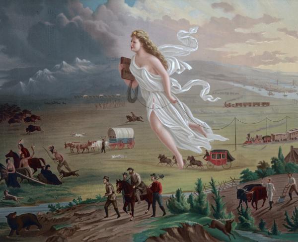 American Progress Manifest Destiny
