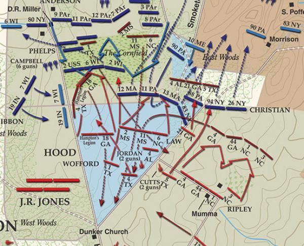 Antietam - Cornfield Fight landscape