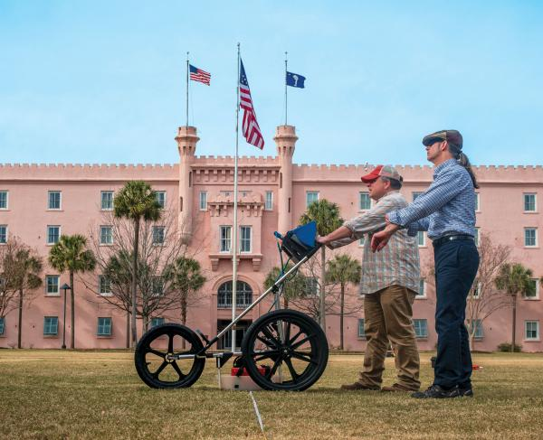 Archaeology Research in Charleston's Marion Square