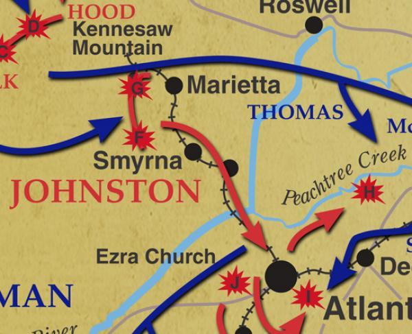 Atlanta Campaign landscape