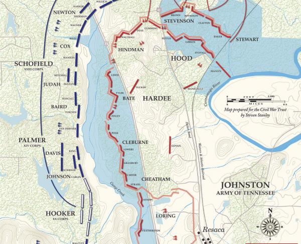 Battle of Resaca - May 14, 1864 (Evening)