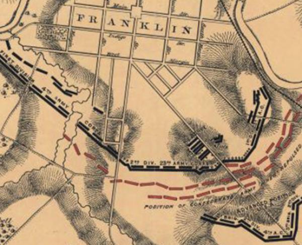 Battlefield in Front of Franklin, Tenn.