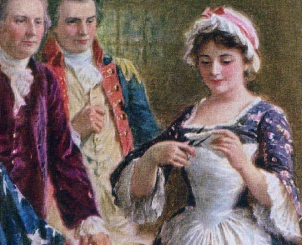 Portrait of Betsy Ross
