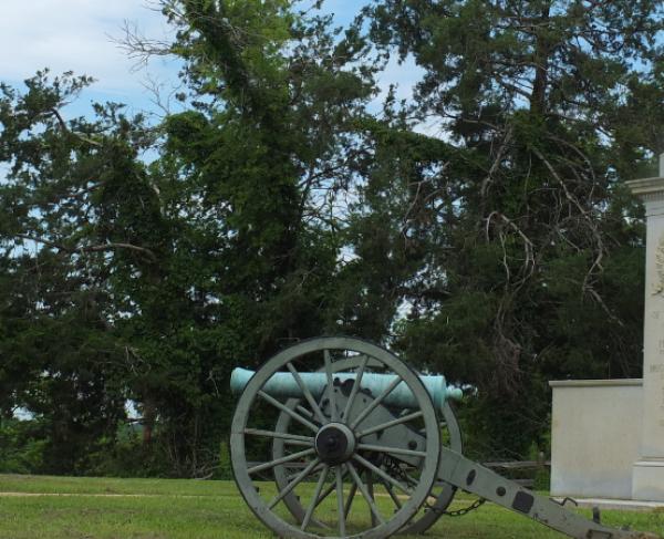 Brice Crossroads Cannon