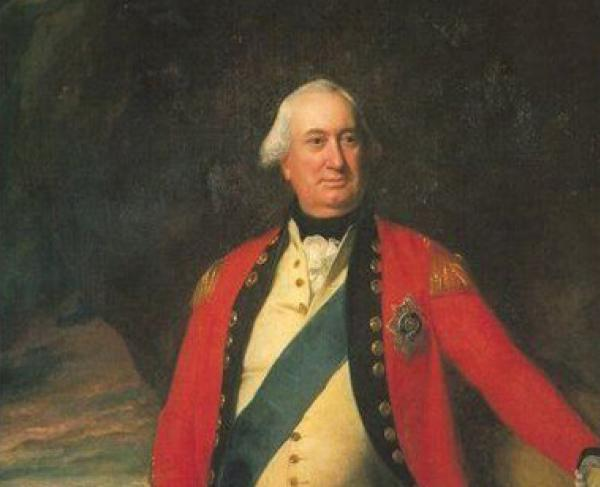 This is a portrait of Charles Cornwallis.