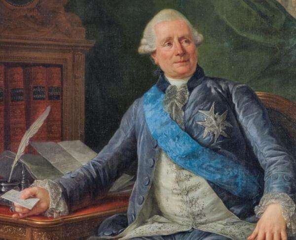 Portrait of Charles Gravier