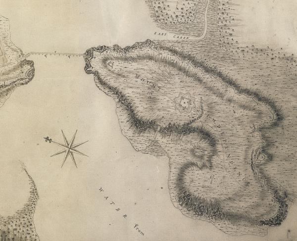 Map of Mount Independence