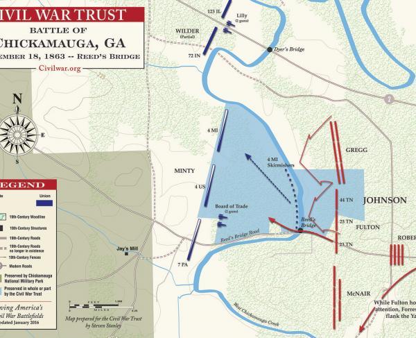 Chickamauga - Reed's Bridge - September 18, 1863