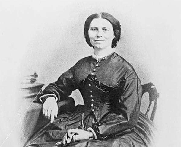 Portrait of Clara Barton