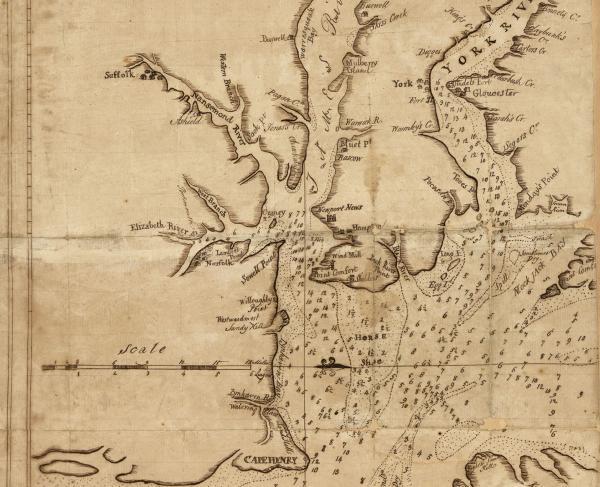 Craney Island Historical Map