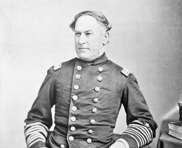 Portrait of David G. Farragut
