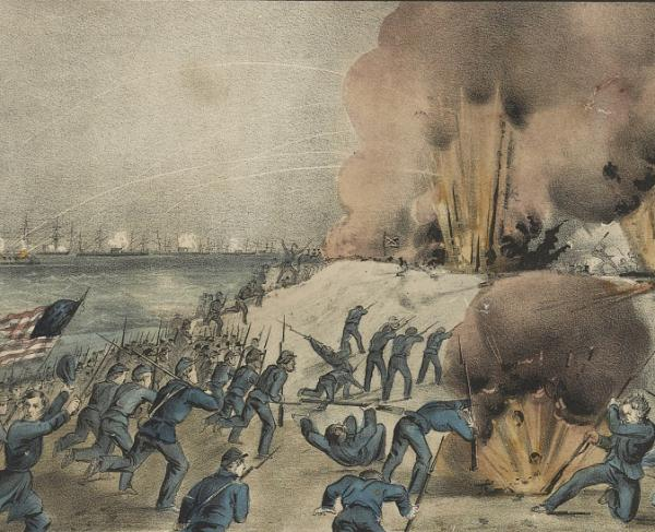 Bombardment of Fort Fisher