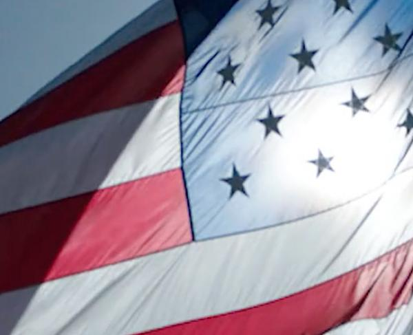 American Flag Hero