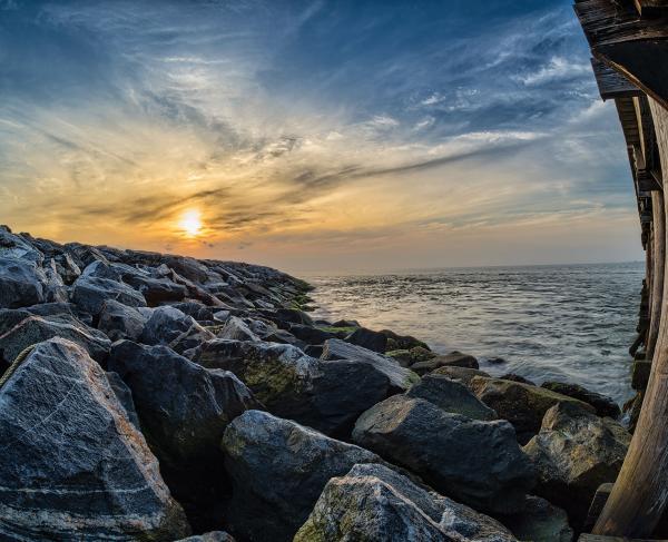 Fort Monroe Rocks Pier