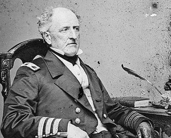 Portrait of Franklin Buchanan