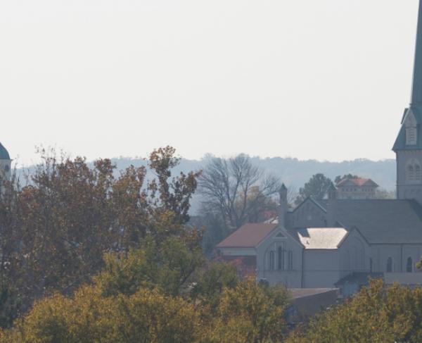 Fredericksburg view Across River