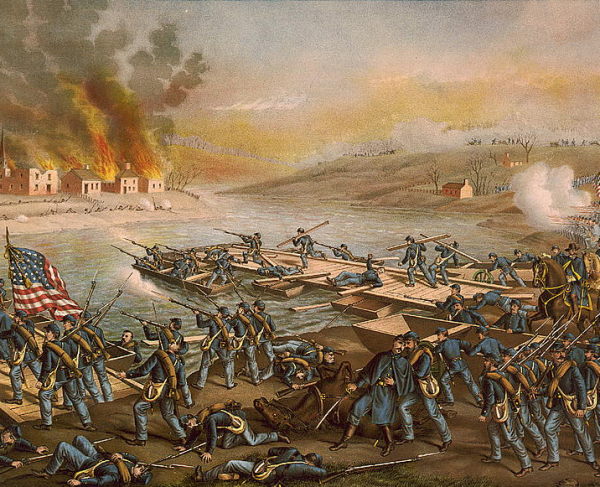 How well do you know the battle of Fredericksburg? Quiz landscape and square