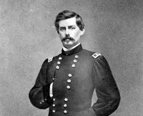 Portrait of George B. McClellan