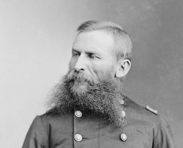 Portrait of George Crook