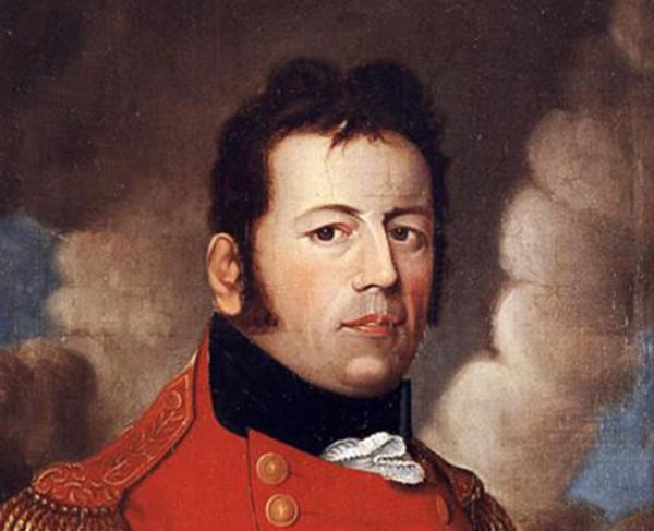 Portrait of George Prévost