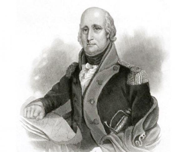 Portrait of George Rogers Clark