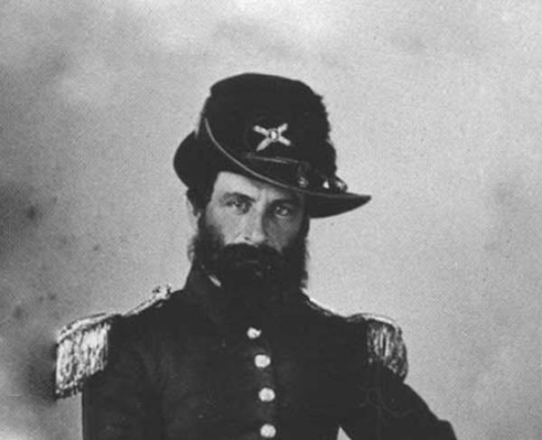 Portrait of George S. James