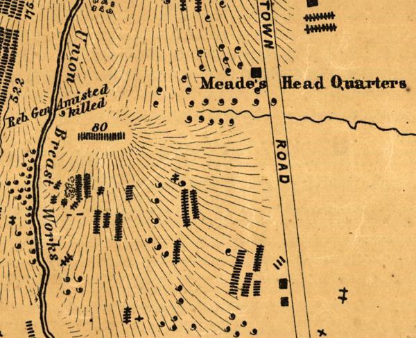 Gettysburg Elliott Map Key