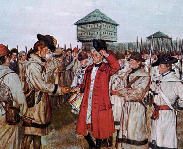 Surrender at Vincennes