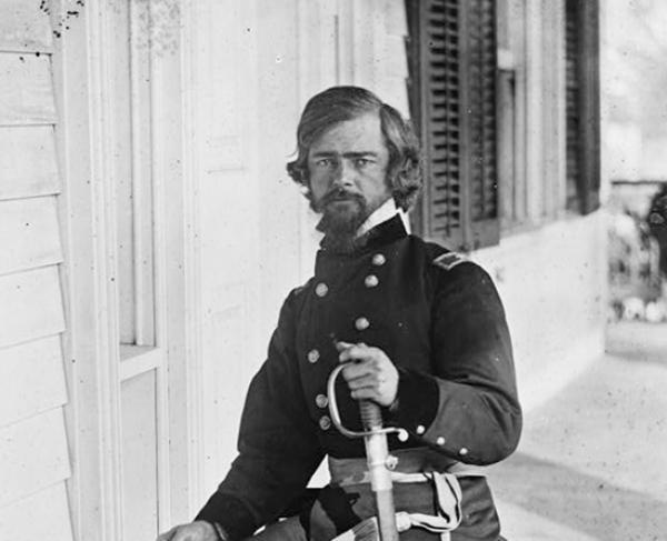 Portrait of Isaac I. Stevens