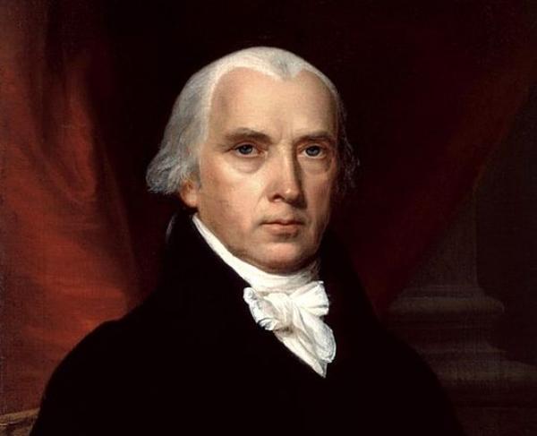 Portrait of James Madison