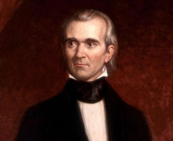 Portrait of James Polk