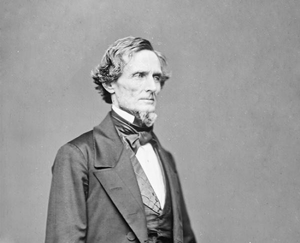 Portrait of Jefferson Davis