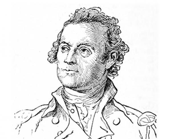 Portrait of John Glover