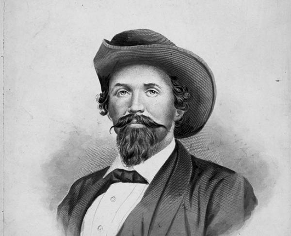 Portrait of John Hunt Morgan
