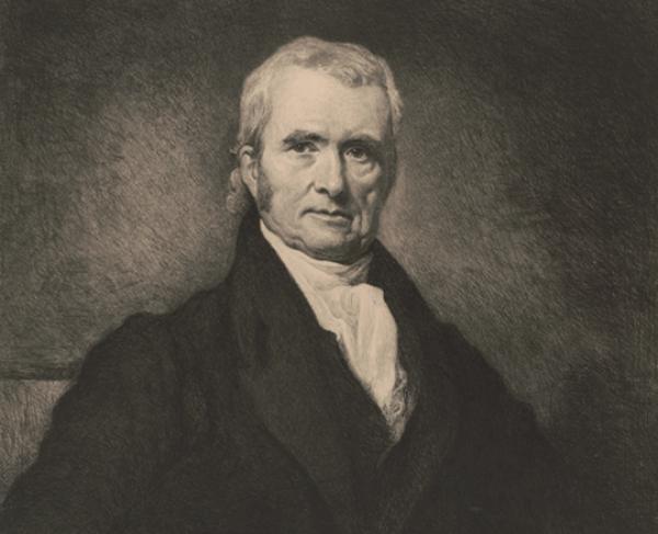 Portrait of John Marshall