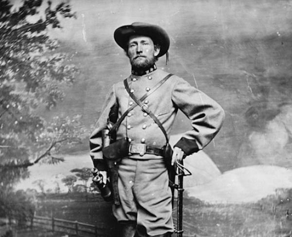 Portrait of John Singleton Mosby
