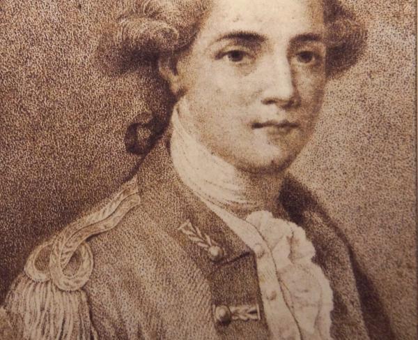 Portrait of John André