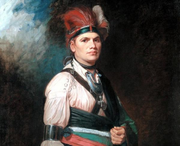 Portrait of Joseph Brant